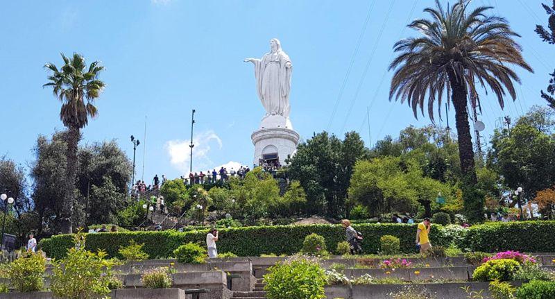 Virgen Cerro San Cristóbal