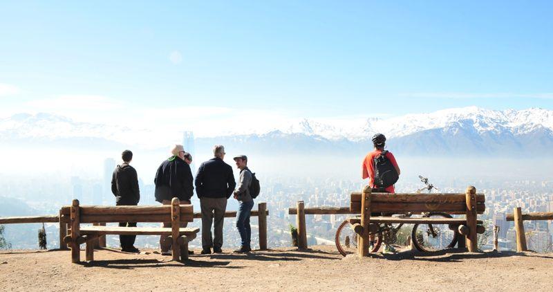 cerro san cristobal - parque metropolitano