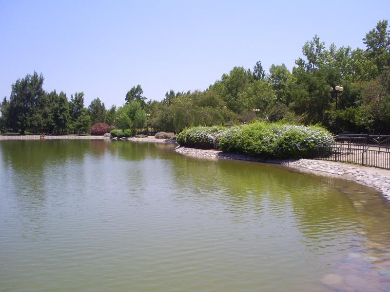 laguna del Parque de Los Reyes