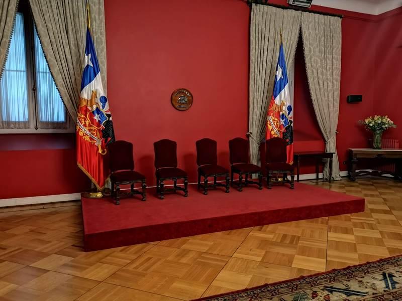 Visita Palacio de la Moneda