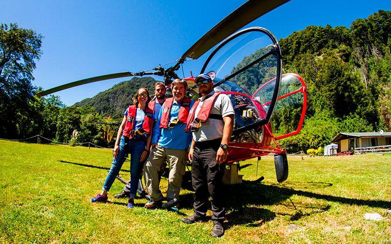 Viaje en Helicóptero - Peulla