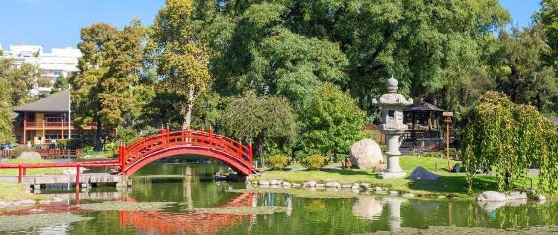 visitar el Jardín Japones
