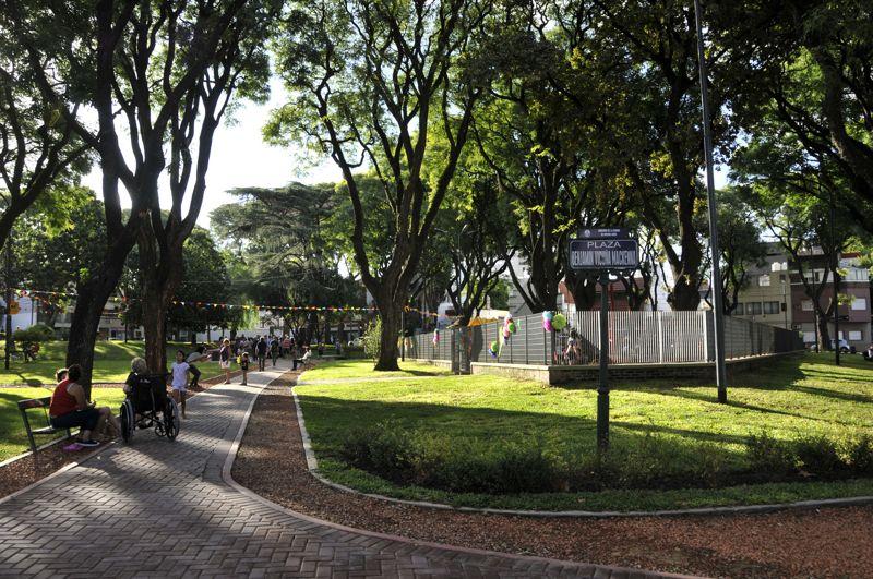 Plazas en Santiago