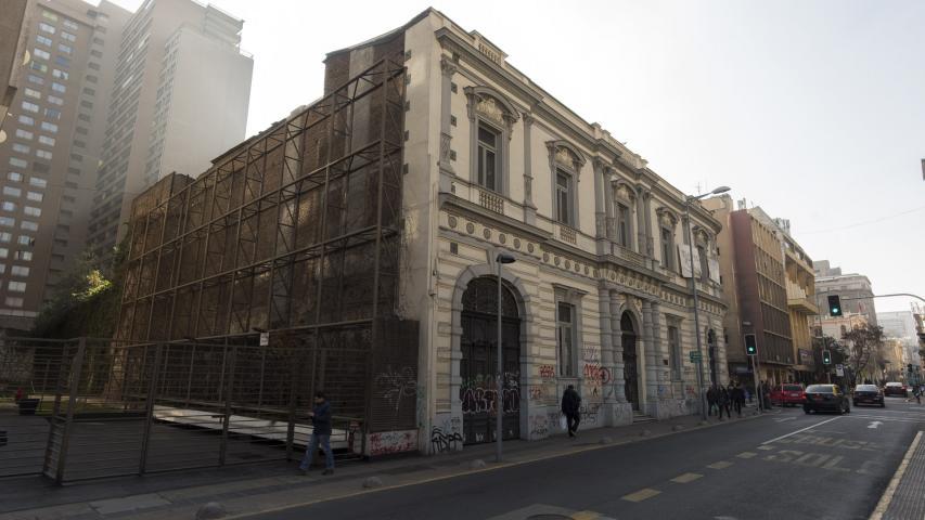 Palacios en Santiago