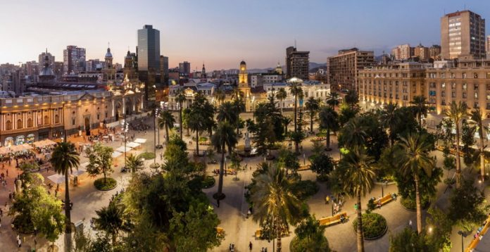 Visitar la Plaza de Armas de Santiago
