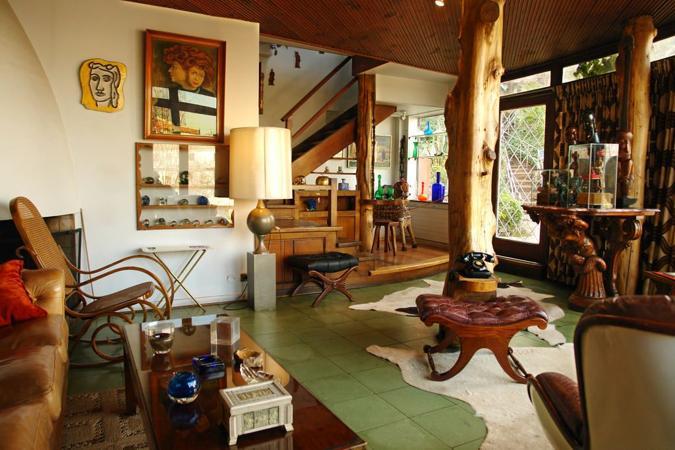 Sala de Casa La Chascona