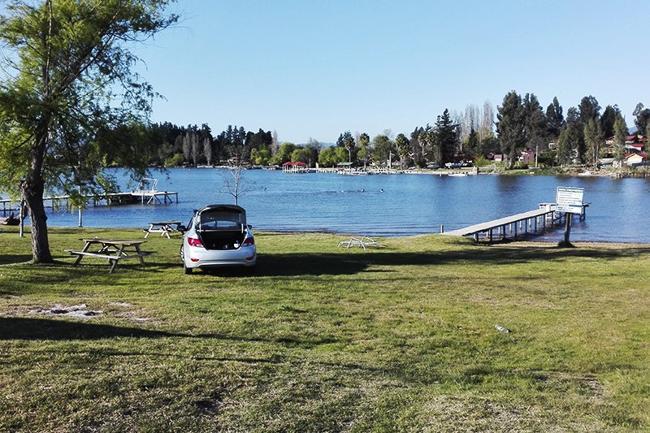 Camping lago rapel
