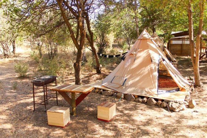 Camping Cajón del Maipo